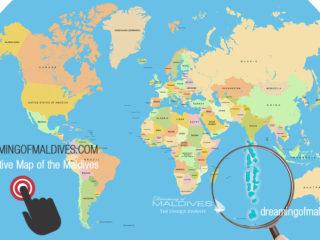 Maldives Map By Dreaming Of Maldives