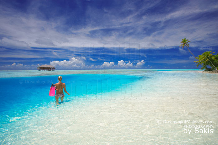 Just another day at Medhufushi Maldives
