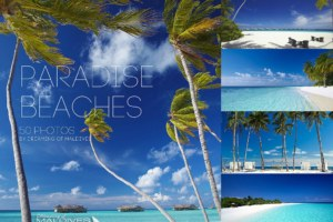 50 Photos of Paradise Beaches from the Maldives Islands
