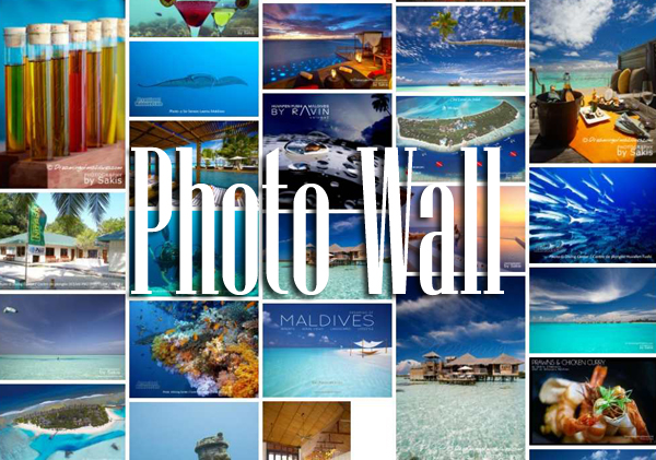 Maldives Image Wall