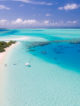 Aerial Photos of Maldives resorts Islands