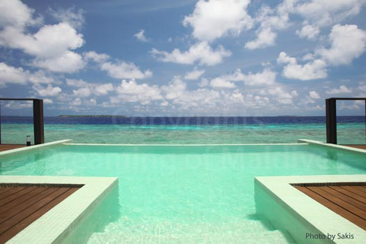 Maldives Water Villa with lagoon View