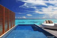Maldives Resort | Water Villa with a lagoon View at W-Retreat Maldives