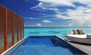 Maldives Resort | Water Villa with a lagoon View at W-Retreat Maldives