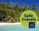 Maldives Safe Travel Destination label
