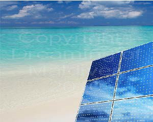 Solar Energy in Maldives at Soneva Fushi