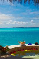 Maldives Resort | View from a Water Villa Terrace at Island Hideaway Maldives