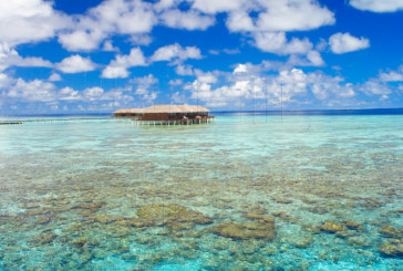 Photo of the Day : Maldives, between Sky and Sea…a Water Villa