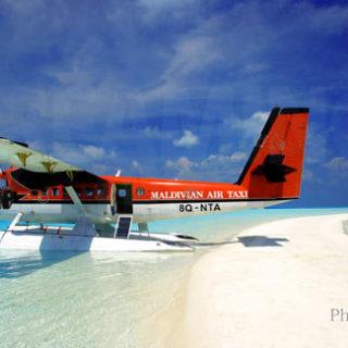 Maldivian Air Taxi seaplane Maldives