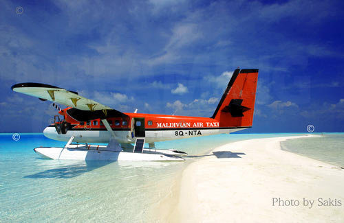 Maldivian Air Taxi seaplane Maldives
