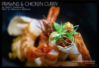 Maldives Chicken and prawns Curry Recipe at Velassaru (Let's cook a Maldivian Curry with Cedric d'Ambrosio Chef at Velassaru Maldives…)