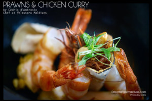 Let's cook a Maldivian Curry with Cedric d'Ambrosio Chef at Velassaru Maldives…