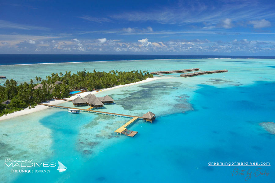 Medhufushi Maldives Resort Aerial Photo