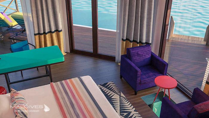 opening 2017 resort Mercure Maldives Kooddoo