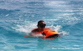 Michael Phelps holidays in Maldives. Time to Chill-out. Photos and details about his stay.