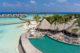 Milaidhoo Maldives Compass bar aerial view