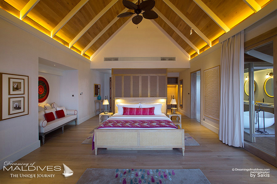 Milaidhoo Maldives Beach Pool Villa. The Bedroom