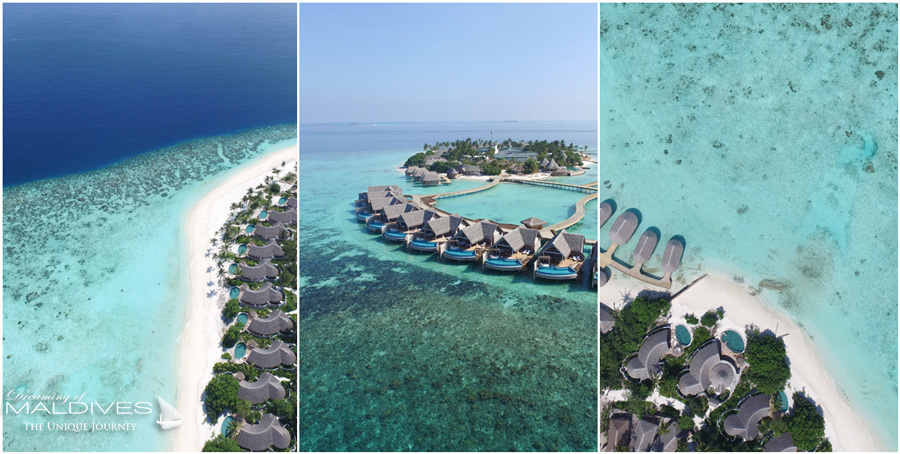 Milaidhoo Maldives aerial views
