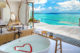 beautiful Bathroom with Ocean view at Milaidhoo maldives