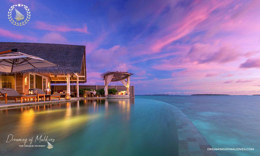TOP 10 Hôtel de Rêve des Maldives 2018.  Milaidhoo Numéro #1