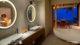 Milaidhoo Water Pool Villas. The Bathroom
