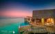 Milaidhoo Water Pool Villas at Sunset