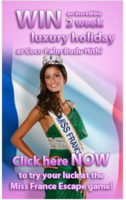 Miss France 2011 in Maldives | Win a dreamy holidays at Coco Palm Bodu Hithi