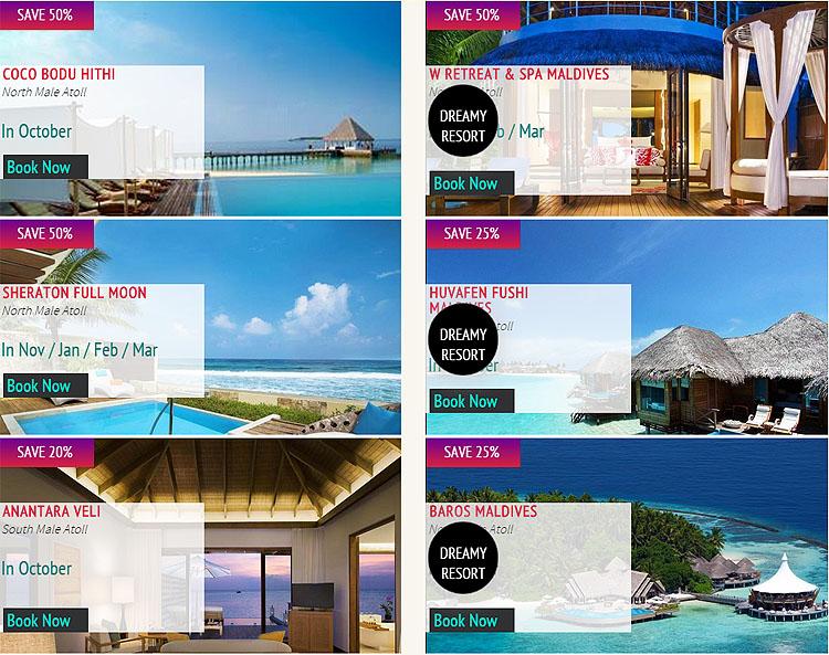 Maldives Hotel and Resort Deals