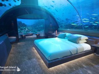 The Muraka Underwater Residence at Conrad Maldives