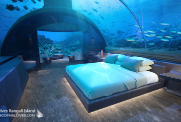 The MURAKA. The Underwater Residence at Conrad Maldives Rangali Island. Visit, Photos and Video