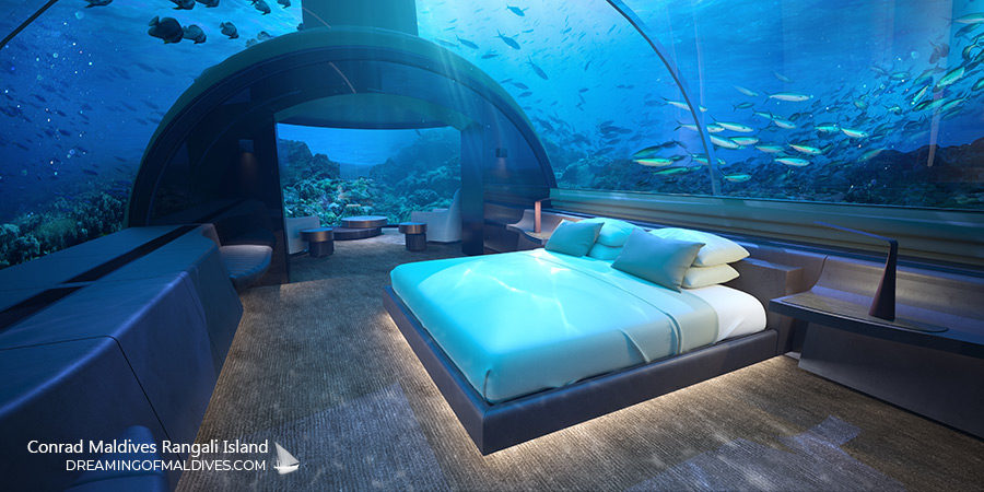 The Muraka Underwater Residence at Conrad Maldives