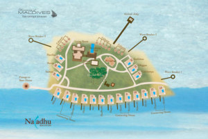 Naladhu Maldives Resort Maps