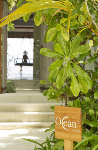 Naladhu Maldives Ocean Retreat Entrance (Naladhu Maldives unveils it's Ocean Retreat Spa)