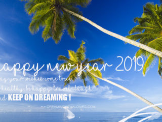 Happy New Year 2019 From Dreaming of Maldives
