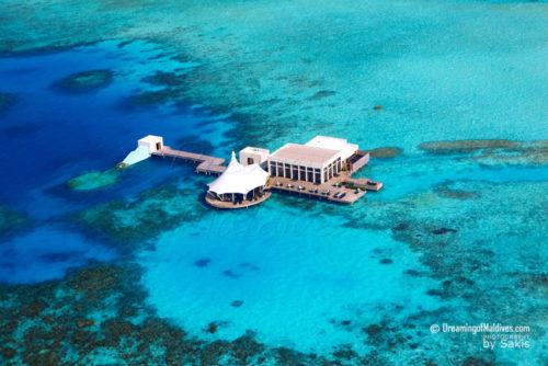 SUBSIX Aerial Photo Niyama Maldives