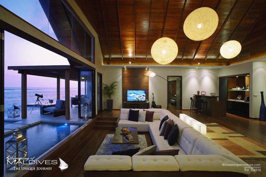 Niyama Maldives Water Villa Ocean Pavilion with Pool