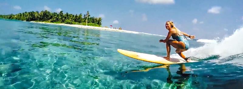 Vodi surf point at Niyama Maldives Luxury resort
