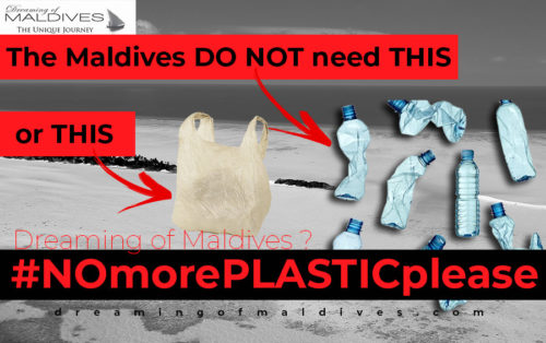 Plastic Pollution MAldives. A pledge for NO MORE PLASTIC