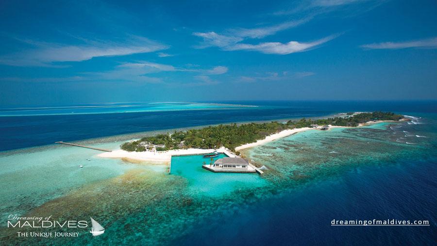 OBLU Select Helengeli Maldives Resort Aerial Photo