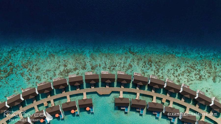 OBLU Select Sangeli Maldives Resort Aerial Photo