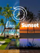 Grand Sunset Residence One&Only Reethi Rah before and at Sunset