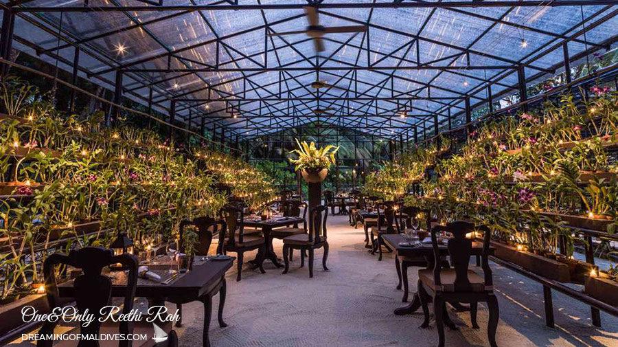 Botanica Restaurant at Only Reethi Rah Maldives