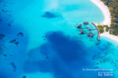 Photo of The Day : Water Villas at One and Only Reethi Rah. Aerial View