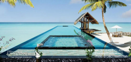 Maldives Family Hotel One&Only Reethi Rah Pool