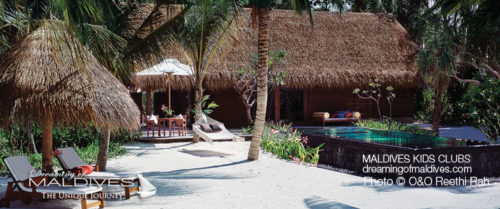 Maldives Family Hotel One&Only Reethi Rah Family Villa