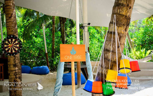 Maldives Family Hotel One&Only Reethi Rah Kids Club