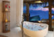 beautiful Bathroom with Ocean Sunset view at OZEN at maadhoo