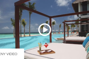 The Daily Teeny-Tiny Maldives Video. OZEN at Maadhoo. 20 Seconds of Relaxation