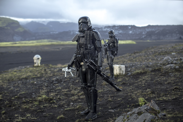 Planet Eadu Filming in Iceland Star Wars Rogue One