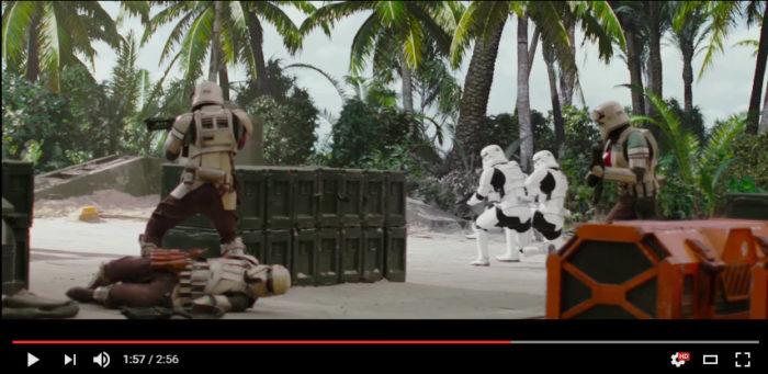 Star wars in Maldives Filming location Laamu. Behind the scenes